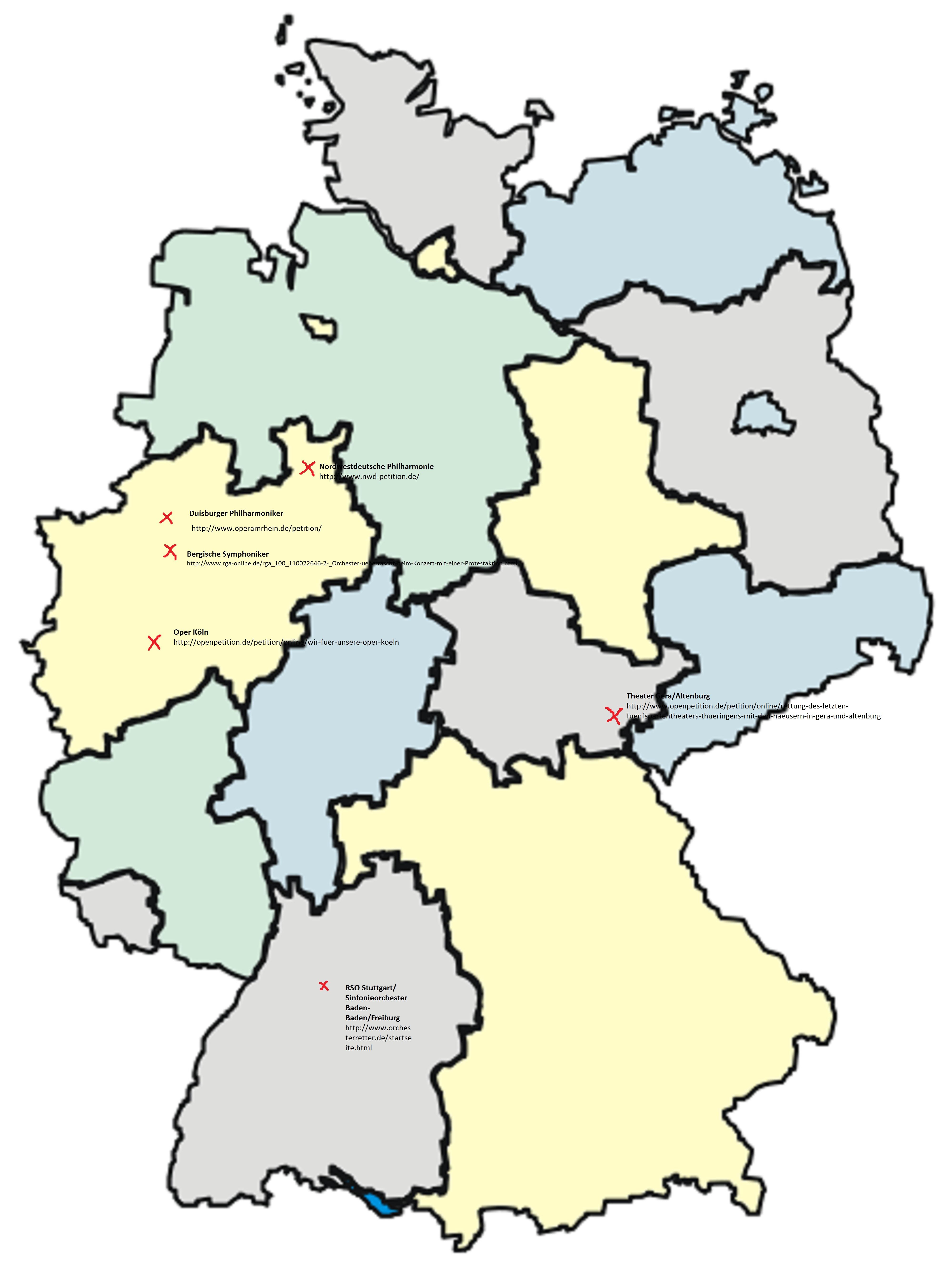Stumme Karte Deutschland Bundesländer.Der Friedhof Der Kuschelkultur Update Jetzt Mit Gera Altenburg