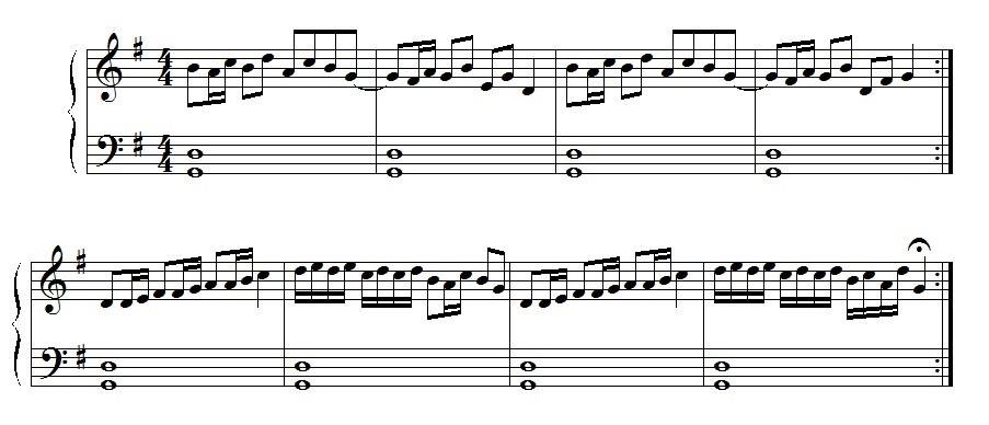 Erstes Klavierstück
