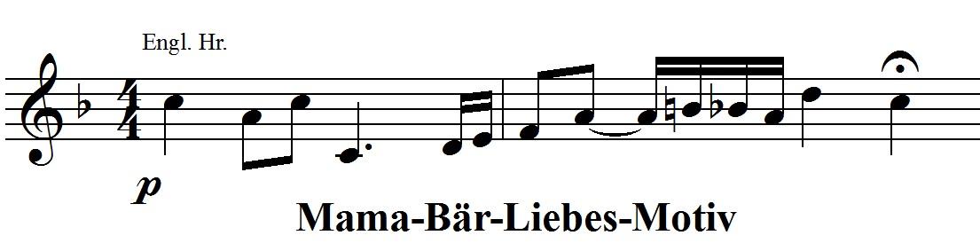 Mama-Bär-Liebes-Motiv