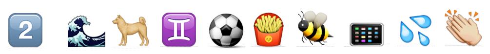 Klassikstar-Emoji-Rätsel - Rätsel 2