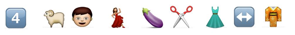 Klassikstar-Emoji-Rätsel - Rätsel 4