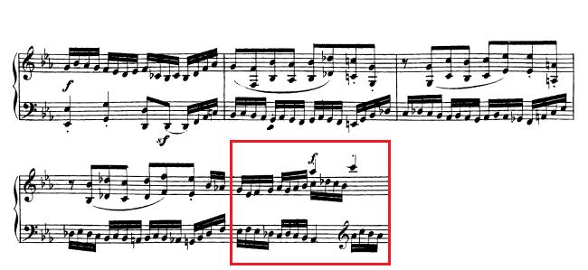 Beethoven op. 111 - 1. Satz - Takt 43