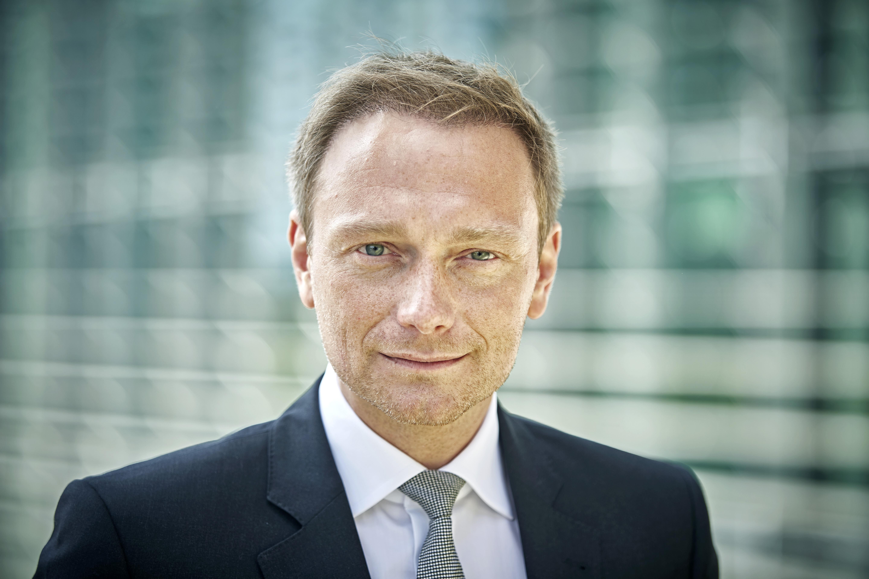 Christian Lindner, Bundesvorsitzender der FDP, Portrait im Berliner Regierungsviertel